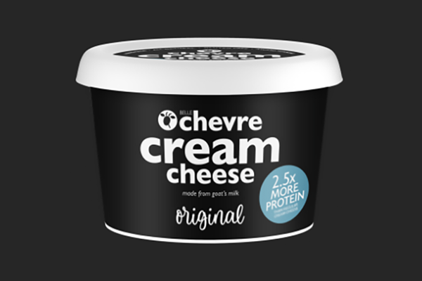 Belle Chevre's chèvre cream cheese is gaining popularity as a healthier alternative to traditional cream cheese