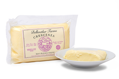 Bellwether Farms Crescenza soft-ripened cheese