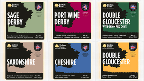 Atalanta's Belton Farm is introducing a new line of six regional cheeses from merry old England