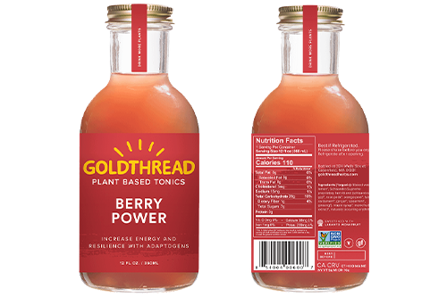 Goldthread Plant Based Tonics is expanding its product portfolio with the introduction of new Berry Power product