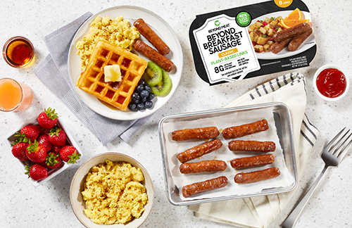 Beyond Meat® is continuing to expand the plant-based sector with a new addition: Beyond Breakfast Sausage® Links