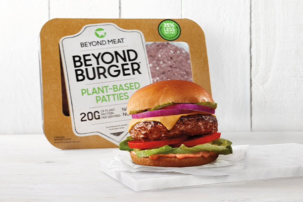 In partnership with Walmart, Beyond Meat is tripling the availability of its Beyond Burger® from approximately 800 locations to more than 2,400 stores nationwide beginning next week