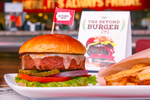 Beyond Meat is known for its Beyond Burger, but also has lines of plant-based sausages and more