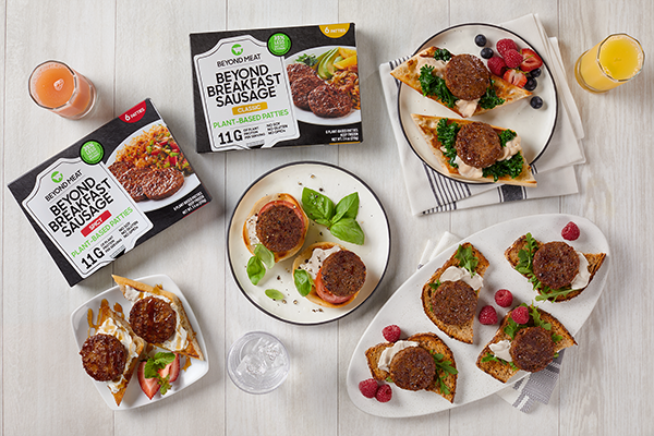Beyond Meat is honing in on the expansion of its frozen Beyond Breakfast Sausage® Patties, announcing that it will double the footprint of its distribution through partnerships with Kroger, Super Target, Walmart, Publix, and Harris Teeter