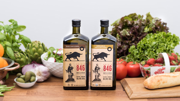 The company oversees quality control from start to finish to ensure full traceability, cultivating its olives using sustainable farming methods and hand-picking each olive
