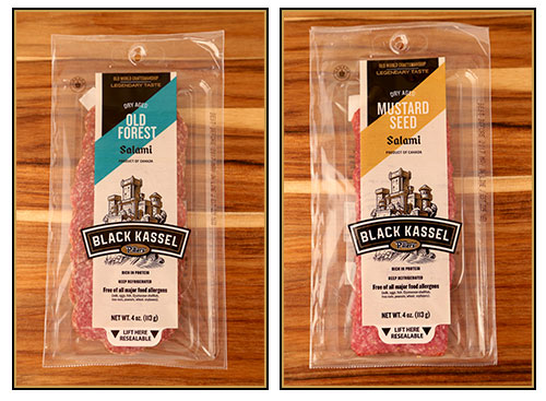 Black Kassel's Old Forrest Salami and Mustard Seed Salami
