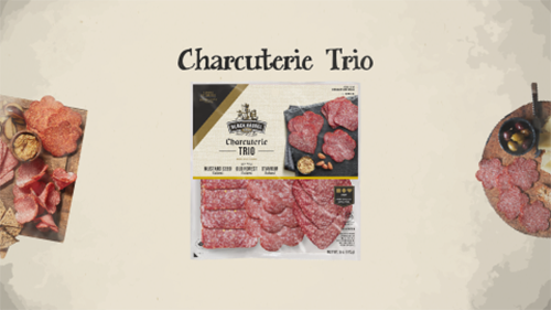 The Charcuterie trio is a convenient package that consumers will love