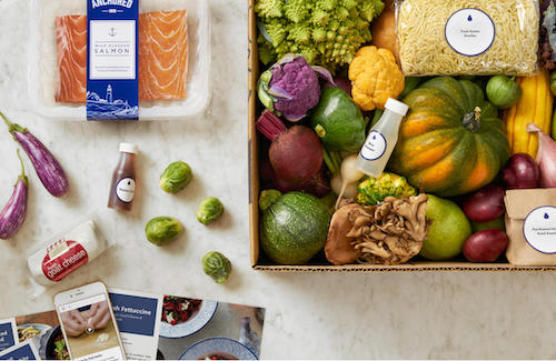 Blue Apron recently announced its public debut.