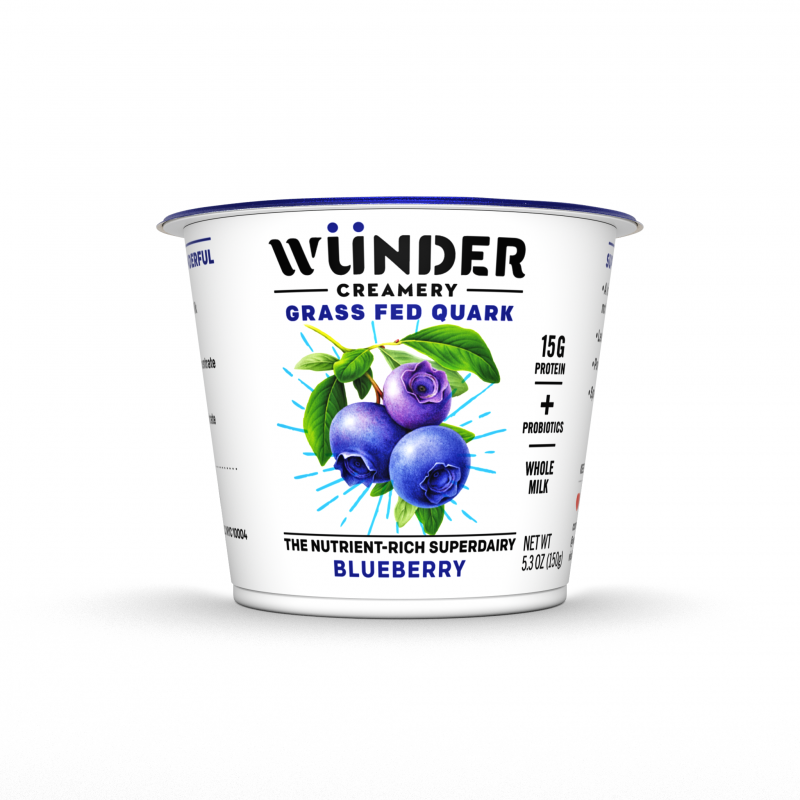 Wünder Creamery offers traditional flavors such as blueberry