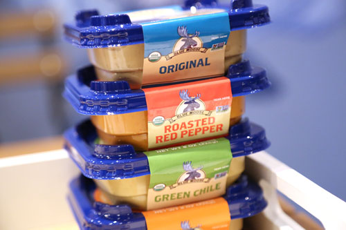 Blue Moose of Boulder is expanding its organic hummus line with four new flavors