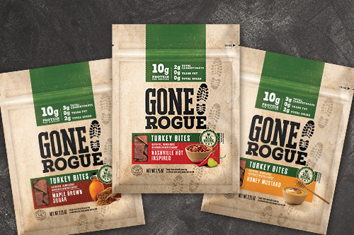 Gone Rogue® Protein Snacks recently tapped the might of two-time Olympic Gold Medalist, Carli Lloyd to promote ways consumers can have a healthy snacking routine while maintaining a busy, active lifestyle