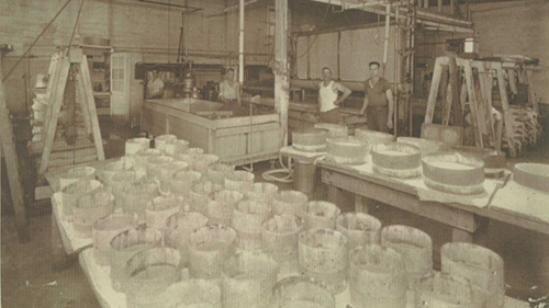 Leading up to WWII, Rumiano was one of the biggest cheese companies in the U.S.
