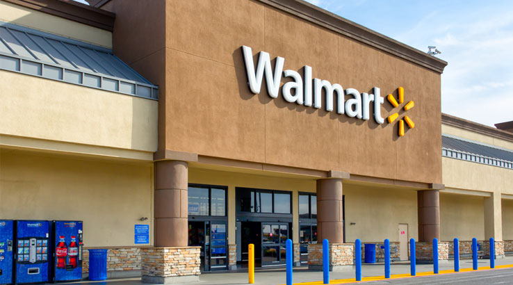 Walmart enjoys bigger slice of food sales