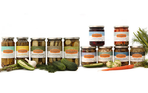 All of Pacific Pickle Works' products are non-GMO, gluten free, and kosher