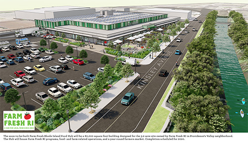 The money approved from the Rhode Island Commerce Corporation will help the Food Hub project with its development