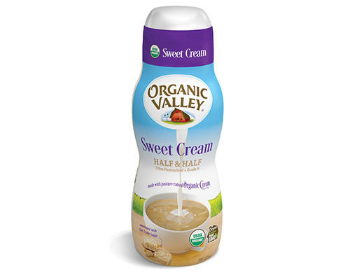 Organic Valley's New Sweet Cream Half & Half