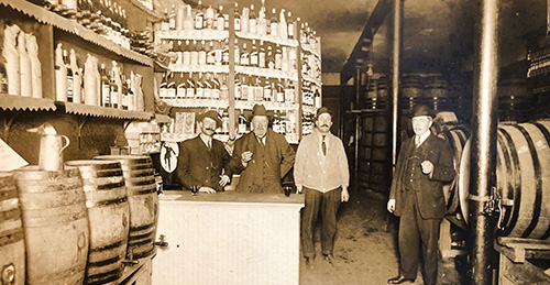 The brothers first started out in the liquor business just as the Prohibition started