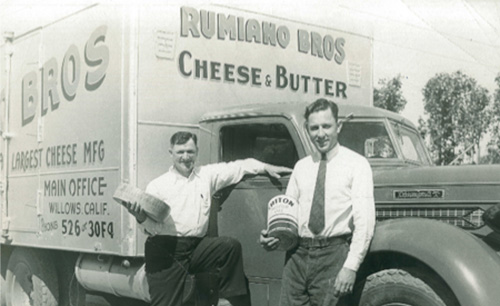 The Rumiano brothers moved to San Francisco working in shipyards before starting their cheese business