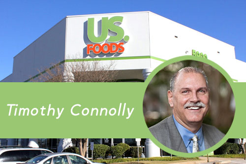Connolly has more than 30 years of experience in large supply chain organizations