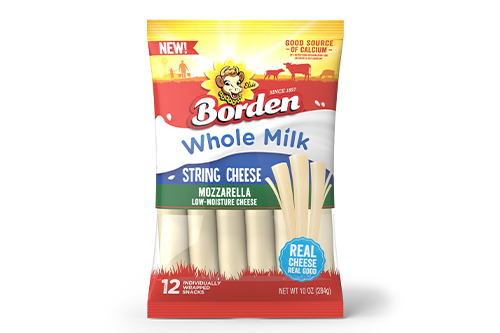 This string cheese has a rich, buttery flavor