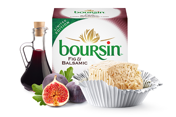 Boursin® recently unveiled its newest holiday flavor, Fig & Balsamic, to capture seasonal sales