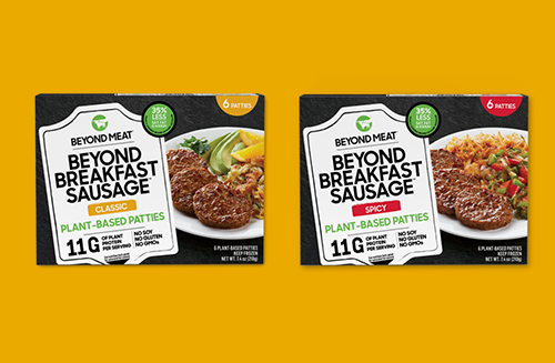 In honor of its new product launch, Beyond Meat teamed up with Martha Stewart to create cutting-edge recipes featuring the Beyond Breakfast Sausage™