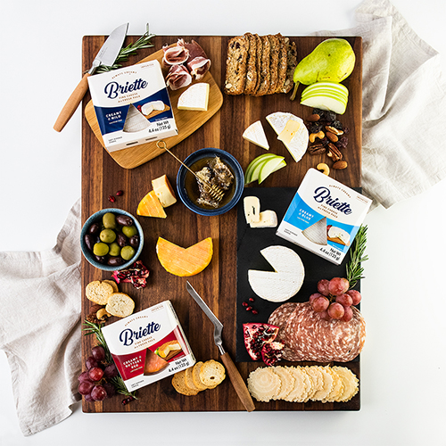 Champignon North America recently released a new product line called Briette–Fine Cheese in a Fresh Pack, under its Käserei Champignon brand
