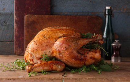 Dry-Brined Citrus Turkey