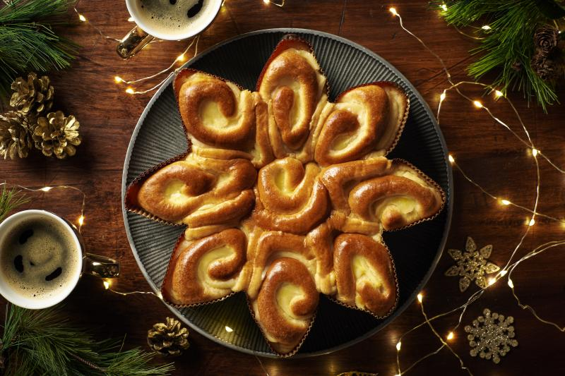 St Pierre Groupe recently teamed up with Kroger to bring its first seasonal product to market, Star Brioche