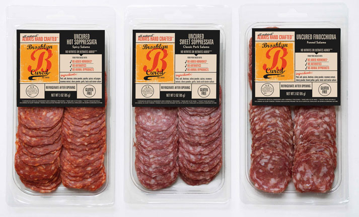 Brooklyn Cured's products are inspired in equal portions by the Italian salumeria, the Lower East Side delicatessens, French charcuterie shops, and German beer gardens