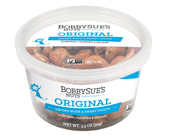 BobbySue's Original 3.5-oz. PET container