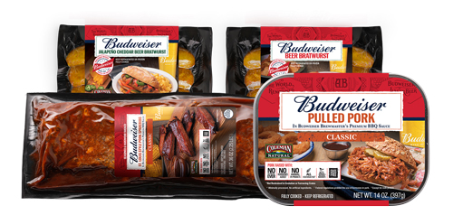 The five new products include barbecue and grilling items