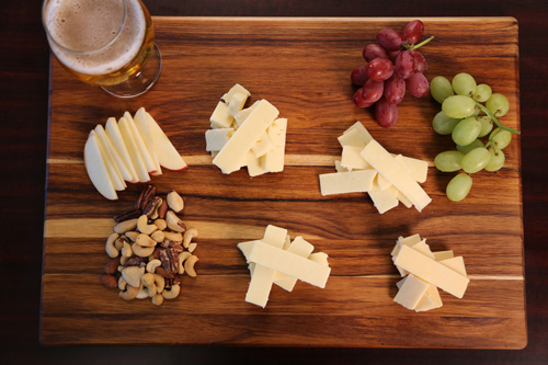 A Cheese Board Featuring Cabot's Founders' Line