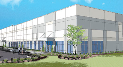 An artist's illustration of the future distribution facility (Photo: Campbell's Soup)