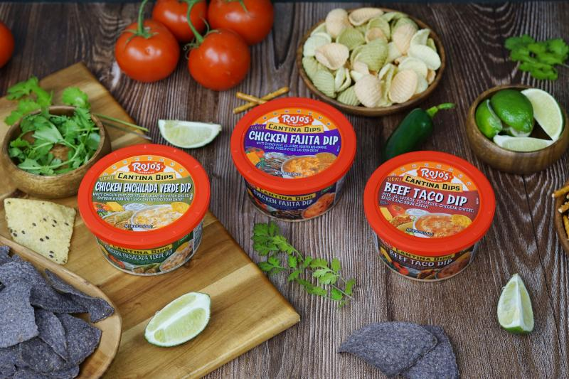 Rojo's® has recently announced the addition of new Cantina Dips to its popular dip line