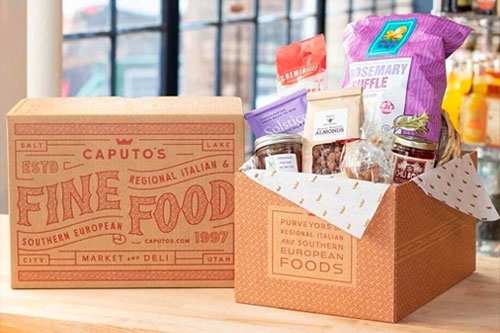 Caputo's Market has, according to CEO Matt Captuo, made a concerted effort to focus on core items like chocolate, cheese, local products, and Southern European items