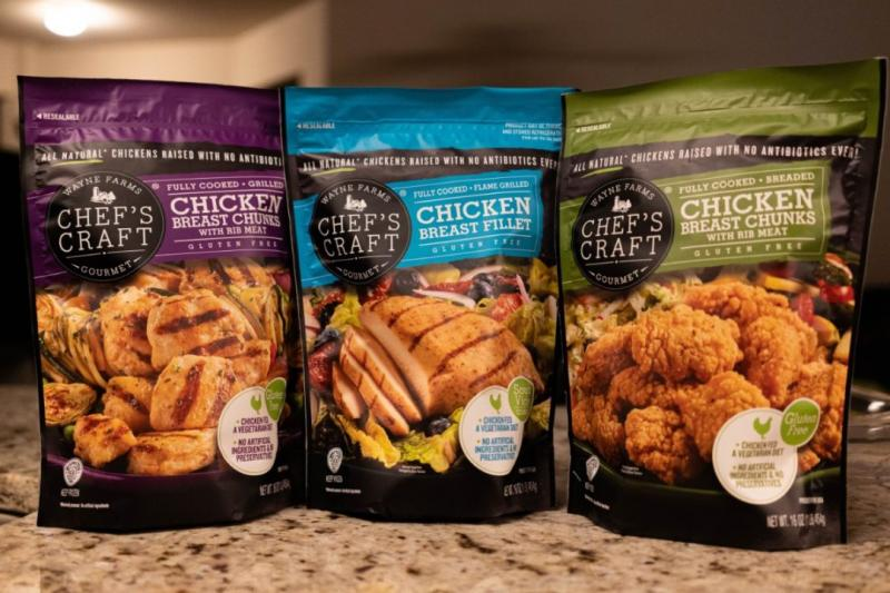 Wayne Farms, creator of CHEF'S CRAFT® Gourmet Chicken, continues to add new retail partners, as its products are now available at Meijer