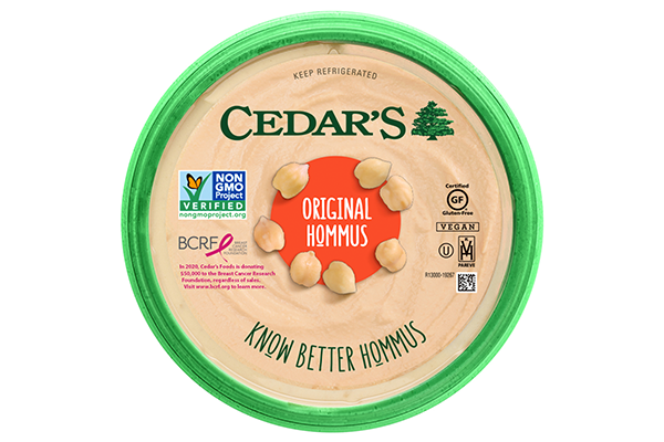 Cedar's Foods recently launched its Cedar's with Heart initiative through a partnership with the Breast Cancer Research Foundation (BCRF)
