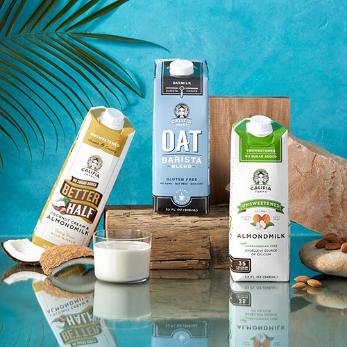Califia Farms' shelf-stable products provide retailers with the support they need for critical items