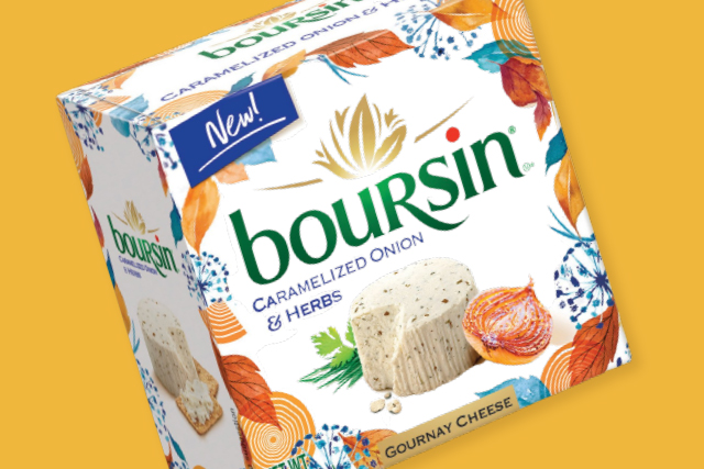 Boursin® Cheese has recently debuted its newest seasonal variety, Caramelized Onion & Herbs