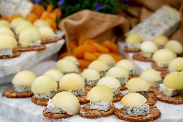 The highlight of the weekend is Sunday's Artisan Cheese Tasting and Marketplace