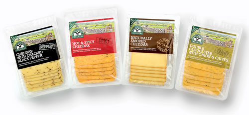 New Blended Sliced Cheese Flavors