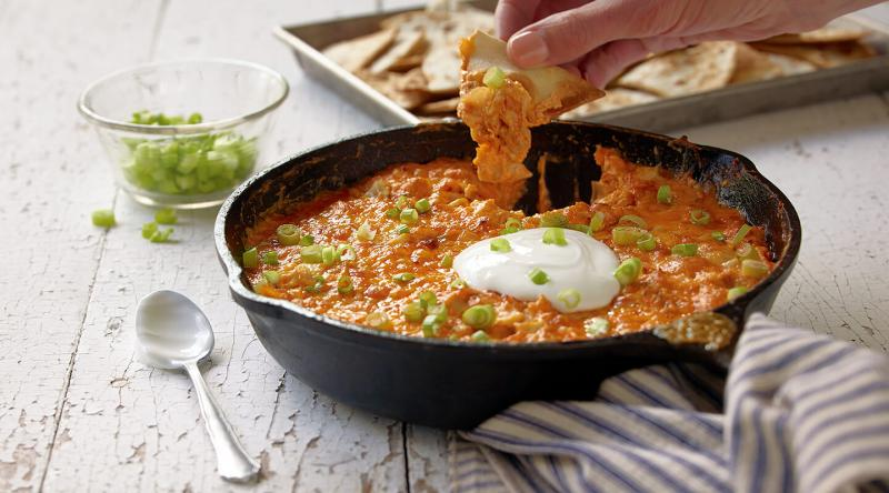 WisconsinCheese.com offers a variety of cheese-forward recipes, including Cheesy Chicken Enchilada Dip