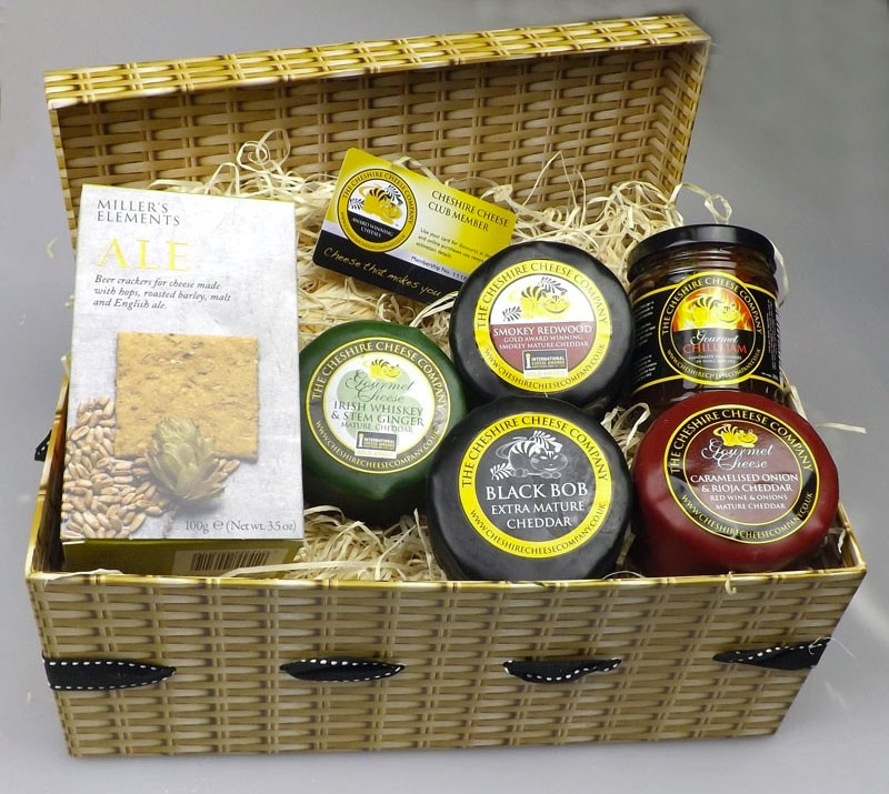 Cheese Lover's Gift Basket