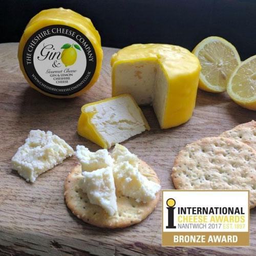 Cheshire Cheese Company's Award Winning Gin & Lemon Cheese