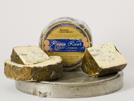 Rogue Creamery's Rogue River Blue Cheese