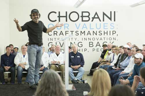 Chobani Receives Great Place to Work(R) Certification and Announces New Paid Parental Leave Policy Across the U.S. (PRNewsFoto/Chobani, LLC)