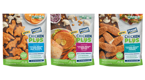 Perdue® Foods enters into the plant-based sector with the launch of PERDUE® Chicken Plus™ Nuggets, Tenders, and Patties