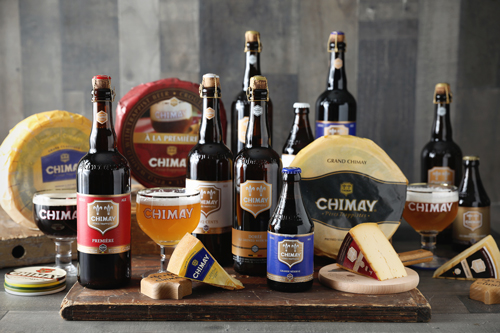 Both the cheese and beer are made in the Trappist tradition