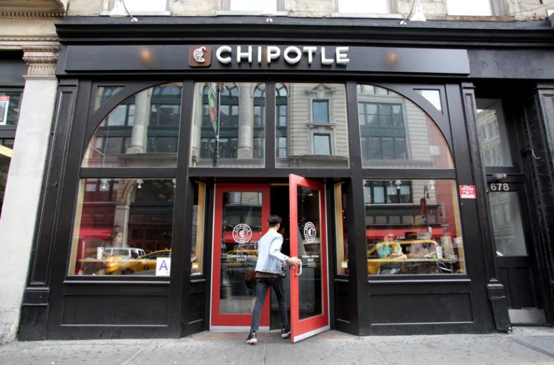 Chipotle same-store sales rise 8.1% in 2Q